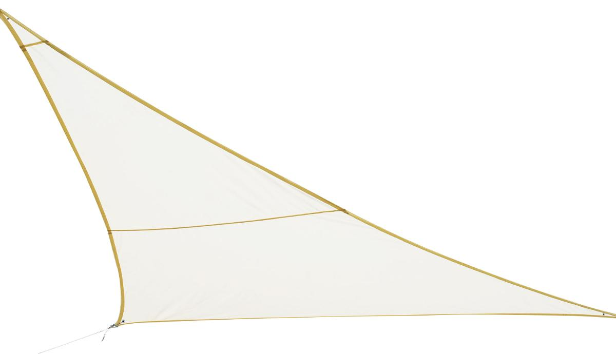 VOILE D'OMBRAGE TRIANGULAIRE CURACAO BLANC